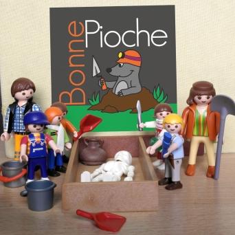 L'équipe Bonne Pioche en animation !