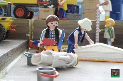 Bonne Pioche - Diorama Playmobil